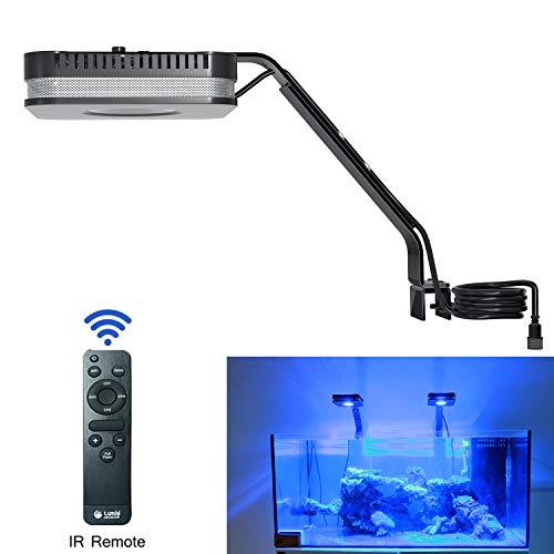 Lominie LED Aquarium Light, Full Spectrum Saltwater Freshwater Fish Tank Light for Coral, Reef, Planted Nano Aquarium…