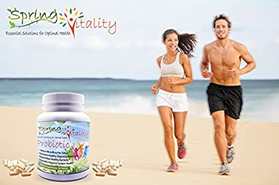 Probiotic Supplements - Get 1 Billion Microflora Per Tablet & Supercharge your Health & Well Being - Aids Digestion and eases associated Issues for Women, Men & Children alike - Probiotics Increase Energy & Strengthen the Immune System