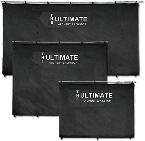 The Ultimate Archery BackStop Back Stop for Target Shooting (Black, 4