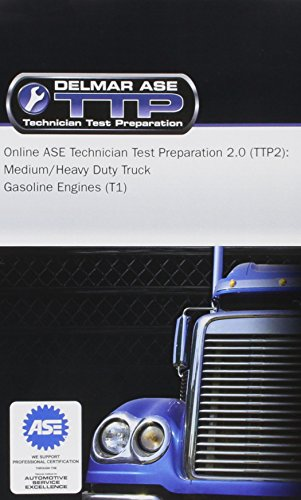 Price comparison product image Online ASE Technician Test Preparation - Gasoline Engines (T2) Printed Access Card