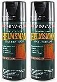 Minwax 33260000 Helmsman Spar Urethane Aerosol, 11.5 Ounce, Semi-Gloss 2 Pack