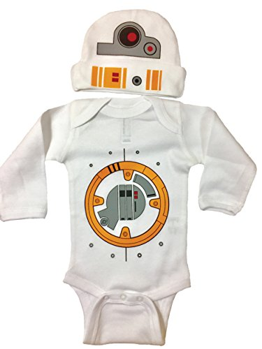 Star Wars BB8 Bodysuit Long Sleeve