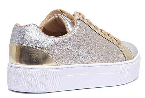 Flme24 Sneakers Fam12 Gold Guess Donna Rqd7ARw