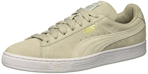 Gray White Sneakers PUMA Gold Violet Fashion Women's Puma WN's Classic Suede pwwCx1zqY