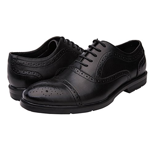 Global Win Globalwin Hommes Lace Up Oxford Chaussures Habillées Black09