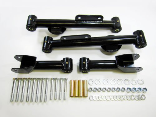 Control Arms Ford Mustang Rear Upper and Lower Control Arm Full Kit (Blk) (Suspension Ford Rear Mustang)