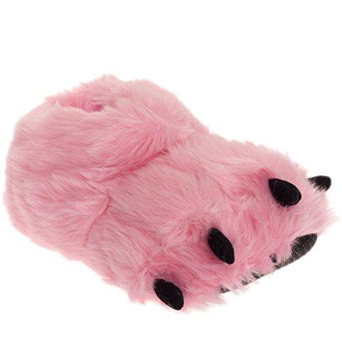 plush-bear-paw-animal-slippers-pink-x-large