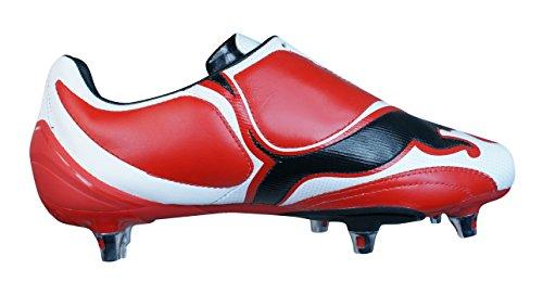 Puma V3.08 SG Herren-Leder-Fußballschuhe Red