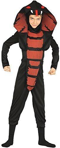 Boys Girls Cobra Ninja Japan Snake Halloween Horror Scary Fancy Dress Costume Outfit 3-12 Years
