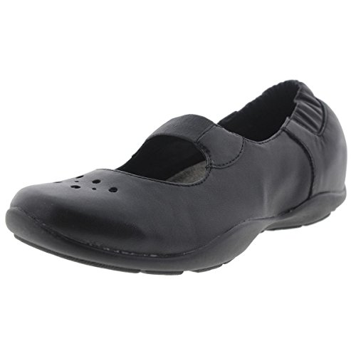 Dansko Women's Ceris Flat,Black,36 EU/5.5-6 M US