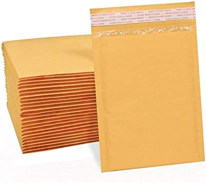 400 Pink /& Gold 6x10 Inches Bubble Mailer Self Seal Padded Envelopes