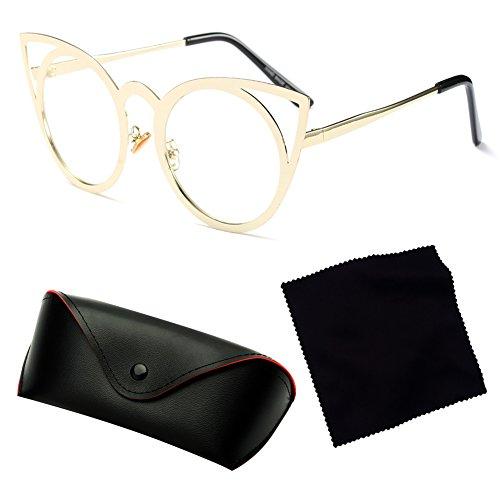 Espejo Vintage UV400 C7 Eyewear Juleya Mujeres Mujer Cateye Cat Eye Fashion Sunglasses qWw7B8Y