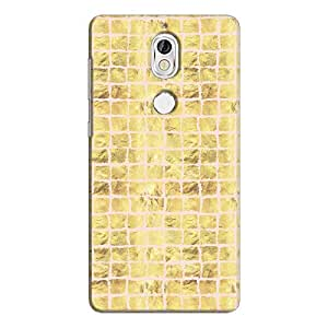 Cover It Up - Gold Pink Break Mosaic nokia 7 Hard Case