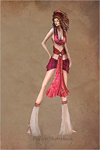 Buy Fashion Sketchbook Fashion Illustration In Tribal Dress Fashion Croquis Templates For Designers Book Online At Low Prices In India Fashion Sketchbook Fashion Illustration In Tribal Dress Fashion Croquis Templates For