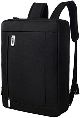 Laptop Backpack 15.6 Inch Notebook Bag Black Mokis Water Resistant Business Computer Bag