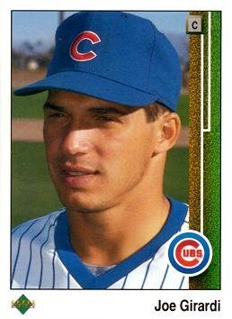 1989 Upper Deck Baseball 776 Joe Girardi Rookie Card At