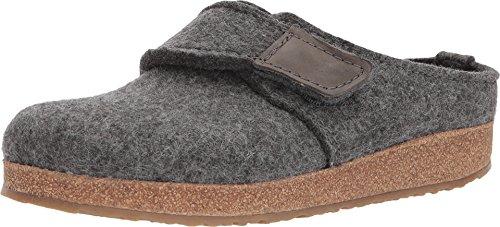 Haflinger Journey Grey Womens Slippers Size 41M by Haflinger
