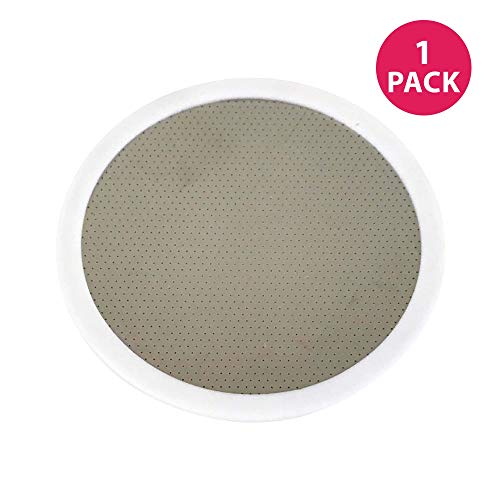 Think Crucial Reusable Deluxe Stainless Steel and Rubber Disk Filter Fits All Toddy(R) Cold Brew System ()