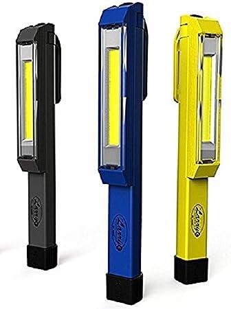 LARRYC Nebo Yellow Blue Red Larry C Work Light In Grey