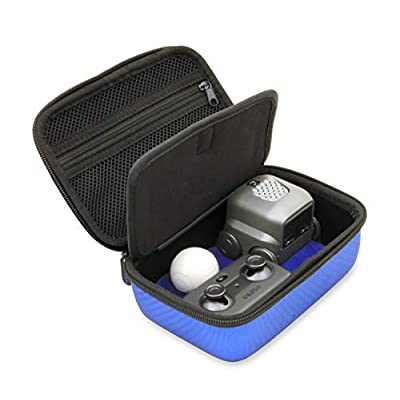 CASEMATIX Blue Toy Case Compatible with Boxer Interactive Ai Robot , Includes Toy Box and Felt Bag to Hold Game Activating Feature Cards: Toys & Games