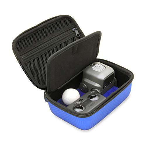 CASEMATIX Blue Toy Case Compatible with Boxer Interactive A.I. Robot - Includes Toy Box and Felt Bag to Hold Game Activating Feature Cards