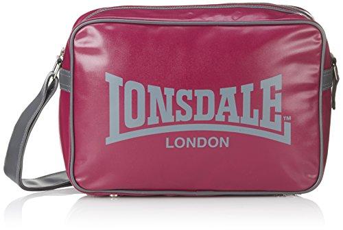 Lonsdale Trend - Bolso de mano para hombre viola