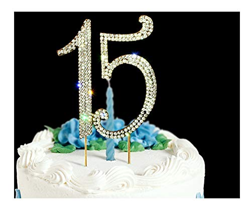 Cake Decorations Ideas - 15 Cake Topper | Premium Bling