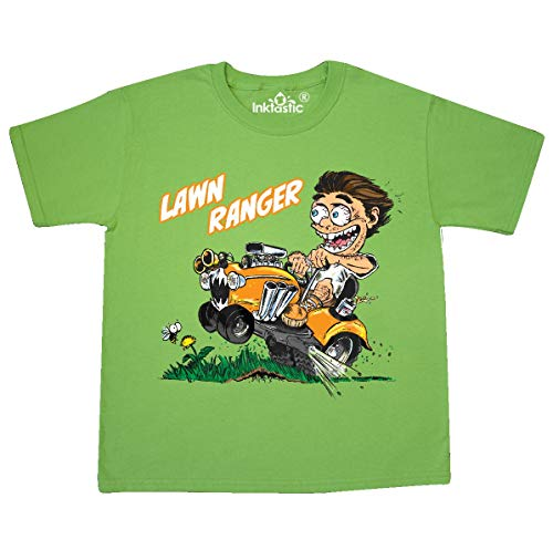 (inktastic - Hot Roddin' Rod on a Youth T-Shirt Youth X-Small (2-4) Kiwi 36029)