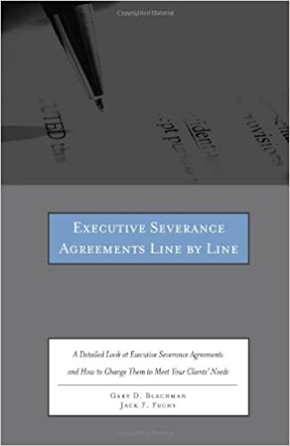 Executive Severance Agreements Line By Line A Detailed Look At