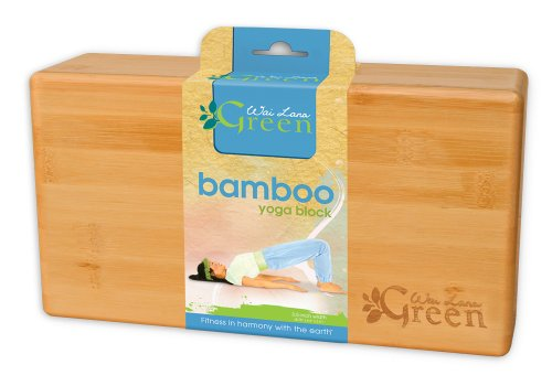 Wai Lana Green Yoga Block