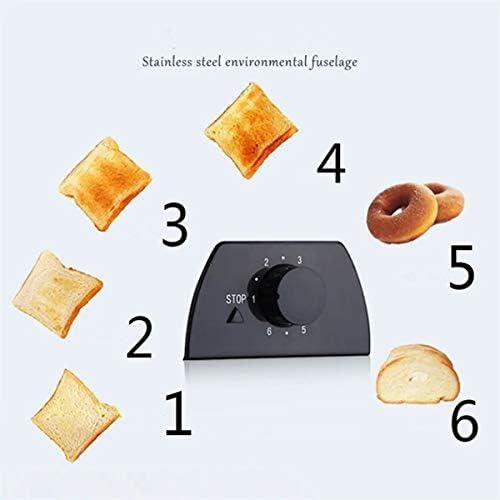 JINRU Tranche Électrique Automatique 2 Grille-Pain Four Grille-Pain Sandwich Maker Grill Machine