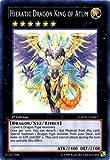 Yu-Gi-Oh! - Hieratic Dragon King of Atum (GAOV-EN047) - Galactic Overlord - 1st Edition - Super Rare