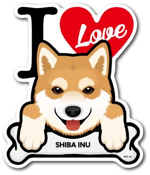 Amazoncojp Pet 041 Shiba Inu 柴犬 Dog Sticker ドッグステッカー