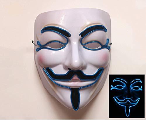 Lucky Harry Men's Light up V for Vendetta,