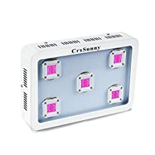 CrxSunny 1000W COB LED Grow Light Module Design Full Spectrum for Greenhouse and Indoor Plant Flowering Growing (5pcs Integrated 200W leds)