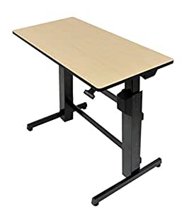 Ergotron Workfit-D Sit-Stand Desk (24-271-928)