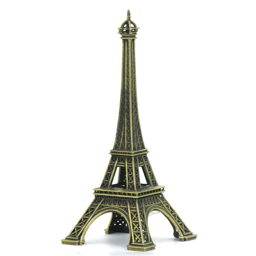 French souvenirs amazon metal eiffel tower statue 5 inch french statues made in france souvenir replica publicscrutiny Images