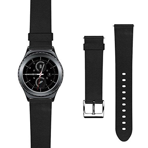 Classic Smartwatch Genuine Leather Black