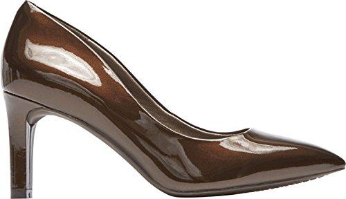 Rockport Women's TM Valerie Luxe Pump Shoes Bronze Pearl UtZJQ5C