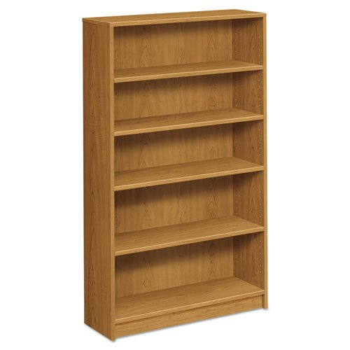 HON 5-Shelf Bookcase, 36 by 11-1/2 by 60-1/8-Inch, Harvest For Sale