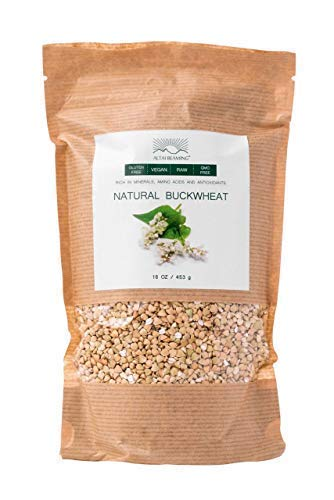 (Altai Beaming Buckwheat Groats | Gluten Free Vegan Raw Non-GMO Superfood | Natural Wheat Free Protein & Fiber Rich Food | Not Grains But Seeds | From the Altai Mountains Of Siberia (16 Oz Bag) )