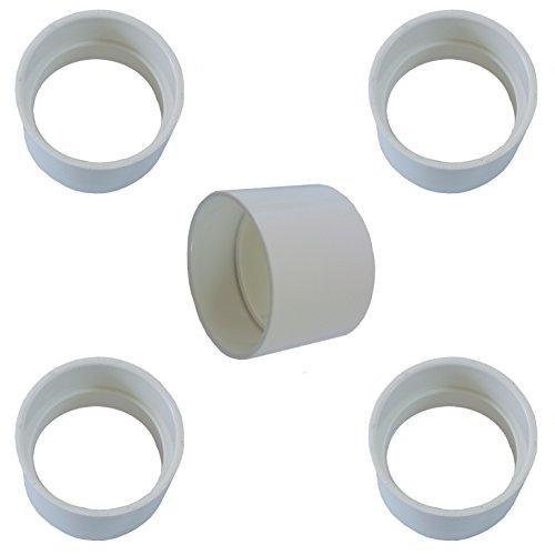 Central Vacuum Coupling - Built in Vacuum Pipe Fitting - Coupling/Coupler Vacuum PVC Fitting - Central Vacuum Pipe Fitting - 5 -