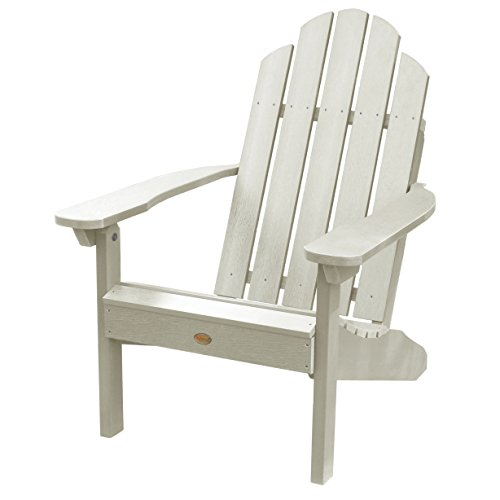 - Highwood Classic Westport Adirondack Chair, Whitewash