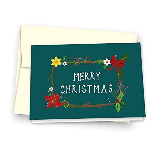 Christmas Cards Greeting Cards, Pop Up Cards, 3D Greeting Card (Green) Photo #6