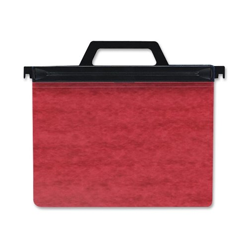 ACCO 2-Hole Laser Printer Hanging Expandable Binder, 8.5 x 11 Inches, Red ()