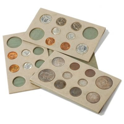 1955 Mint Set (22 Coins) ()