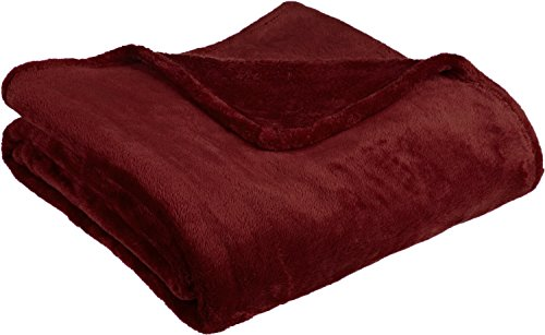 Fancy Collection Luxury Micro-fleece Ultra Plush Solid Blanket (Queen, (Collection Blanket)
