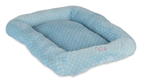 Precision Pet Snoozzy Polka Dot Baby Bumper Bed, Size 2000, (Snoozzy Pet Bed Plush)