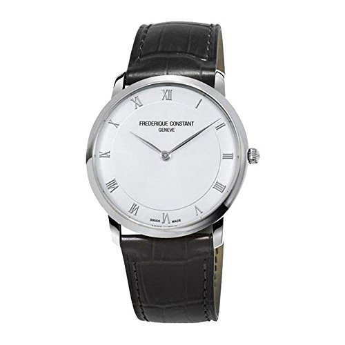 frederique-constant-slimline-stainless-steel-mens-strap-watch-silver-dial-fc-200rs5s36