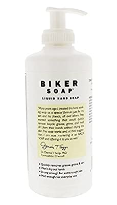 Shikai - Natural Cleansing Biker Soap, Gently Removes the Toughest Oils, Grease and Road Dirt (Unscented, 12 Ounces)